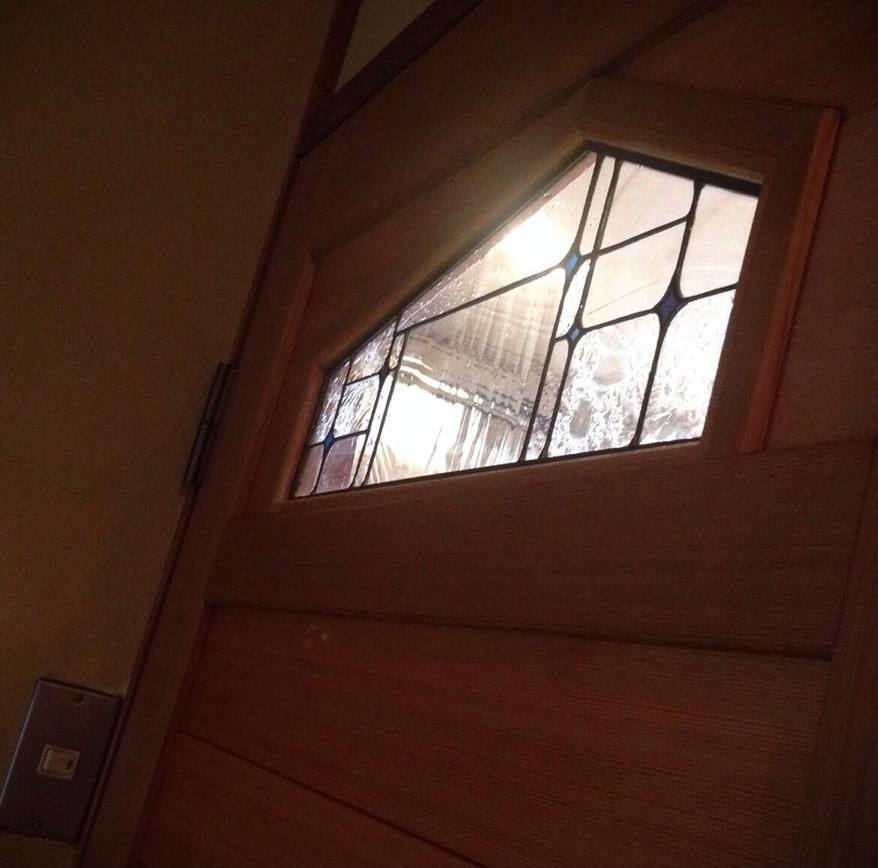 ステンドグラス建具1